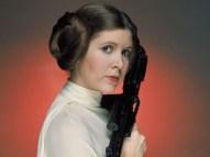 "Morre aos 60 anos, Carrie Fisher, a princesa Leia de ""Star Wars""."
