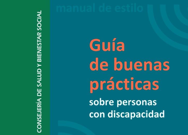 Guía de buenas prácticas sobre personas con discapacidad