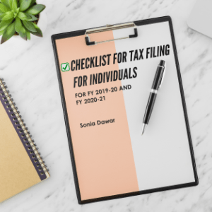 Checklist for Tax Filing for Individuals