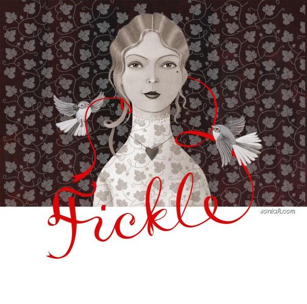 Fickle Mistress Wine Label