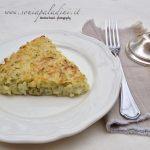 Torta rustica di Zucchine, Riso, Parmigiano al sentore di Limone