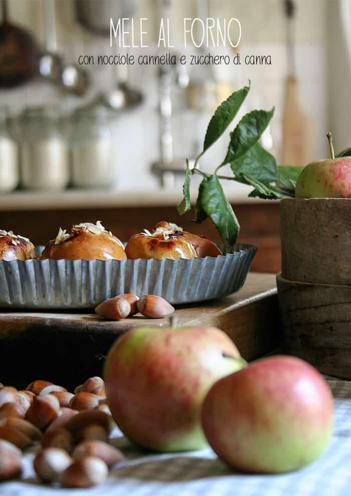 mele al forno