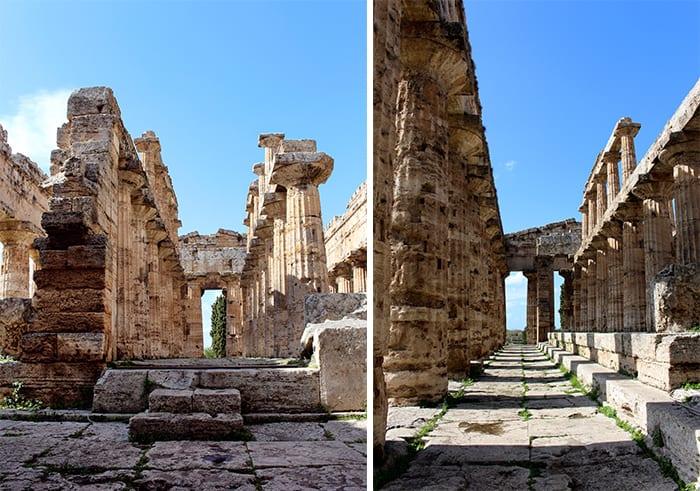 Paestum templio