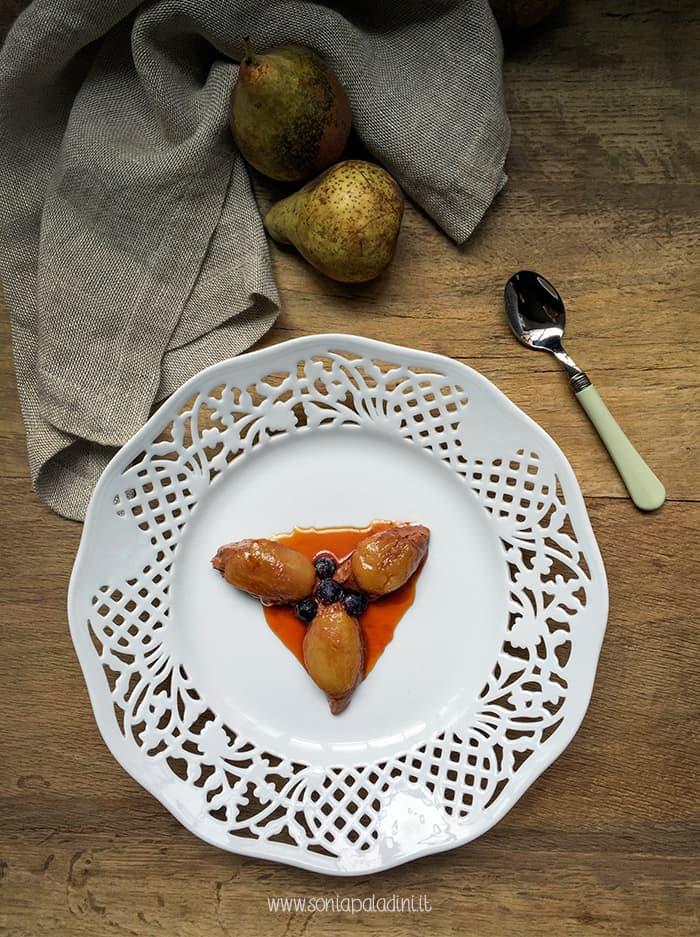 mousse cioccolato pera