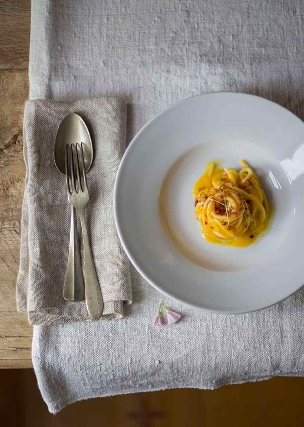 Carote e pancetta