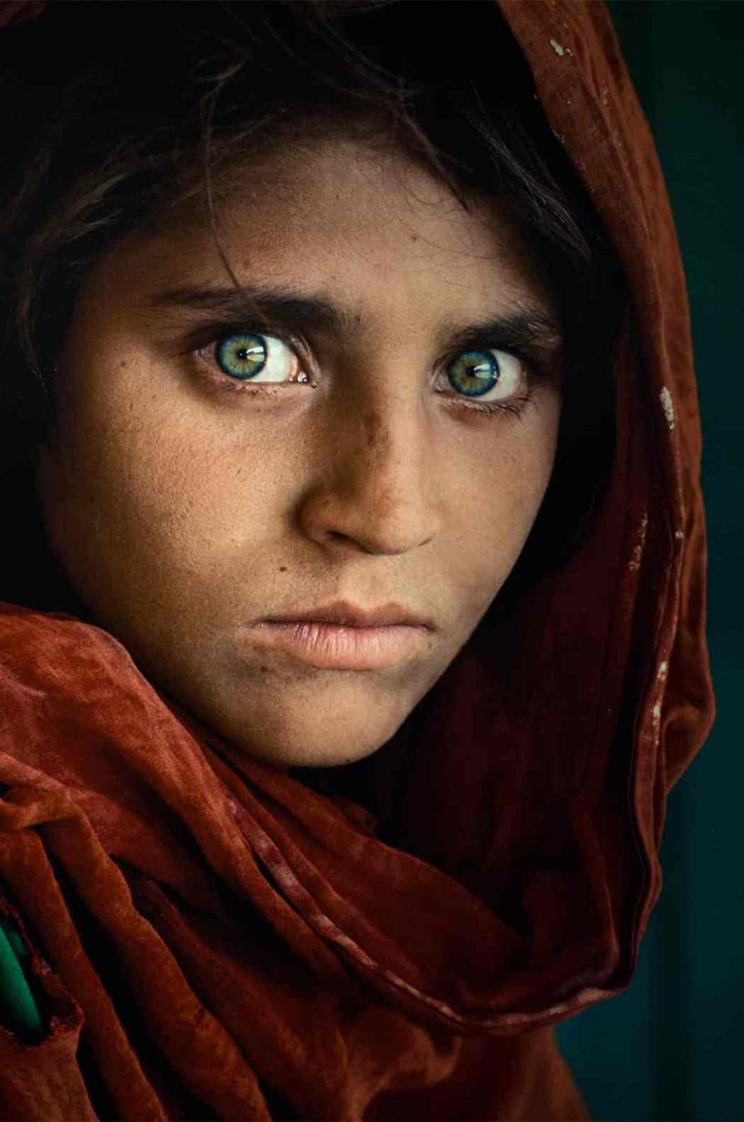 McCurry Ragazza Afghana