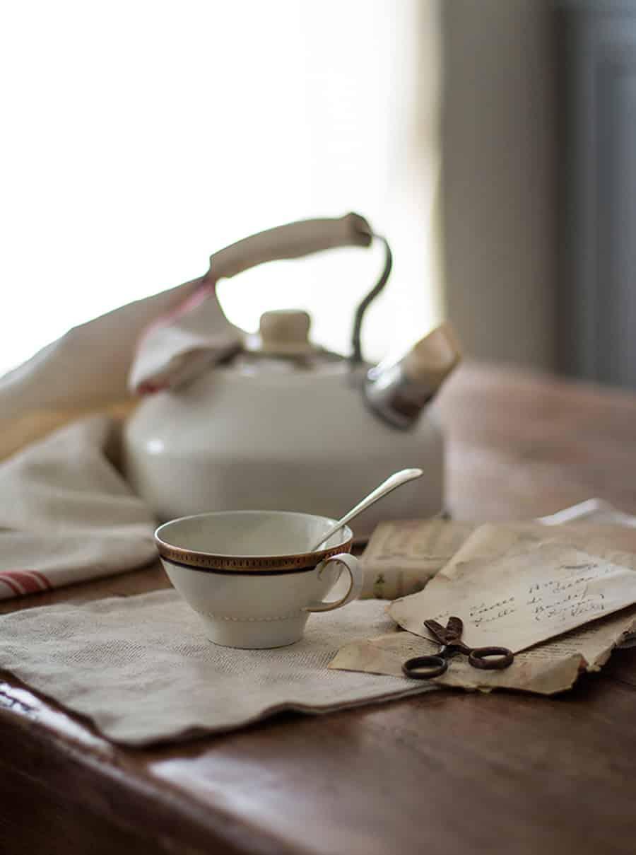 bollitore acqua per tè