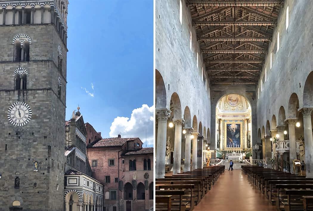 Pistoia Duomo centro storico