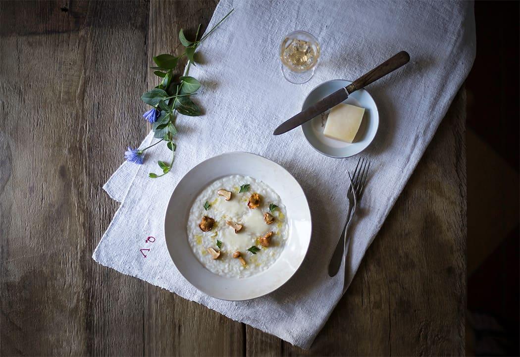 ricette risotti con Montasio Dop