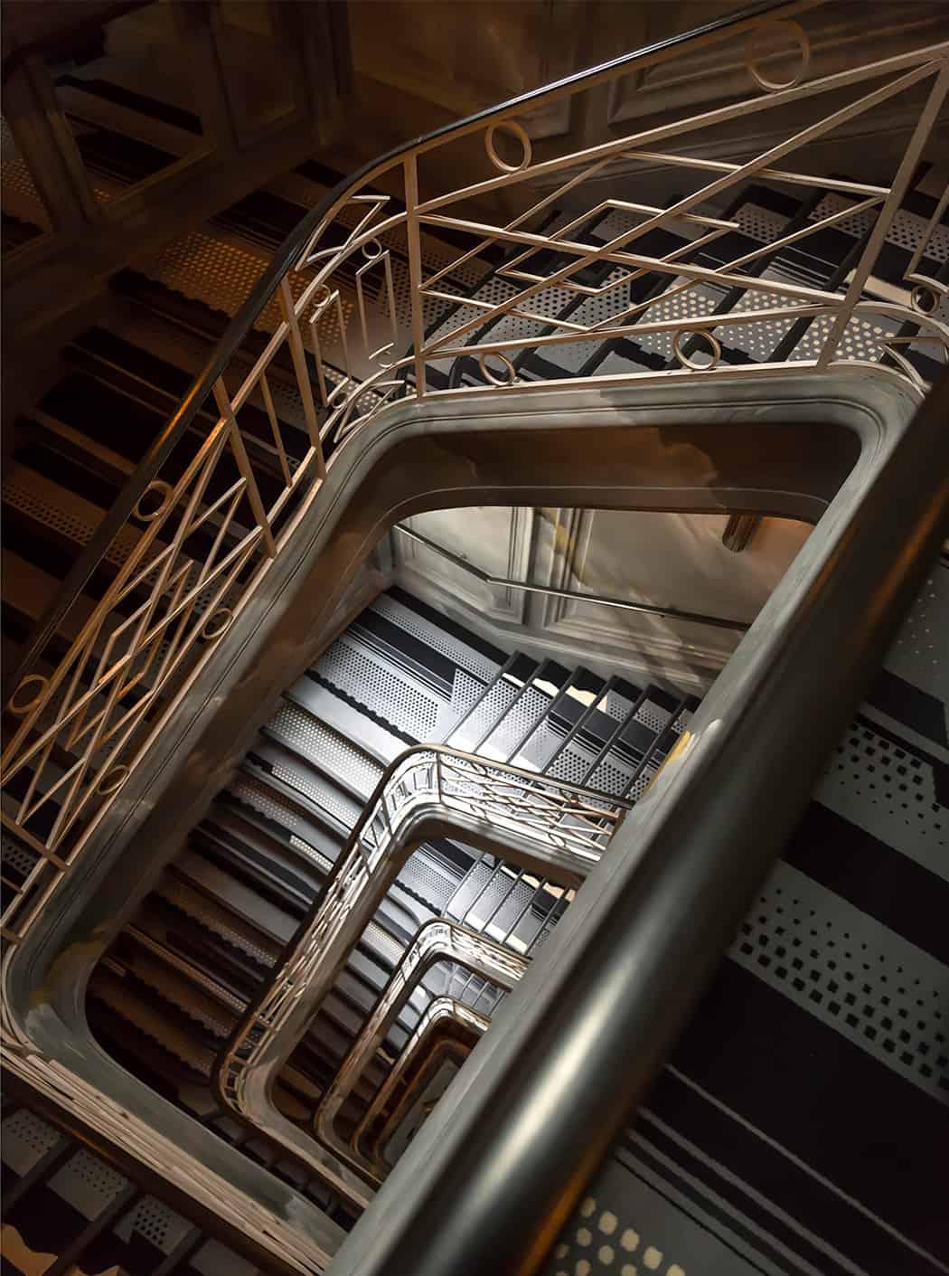 Parigi Hotel Nolinski scala