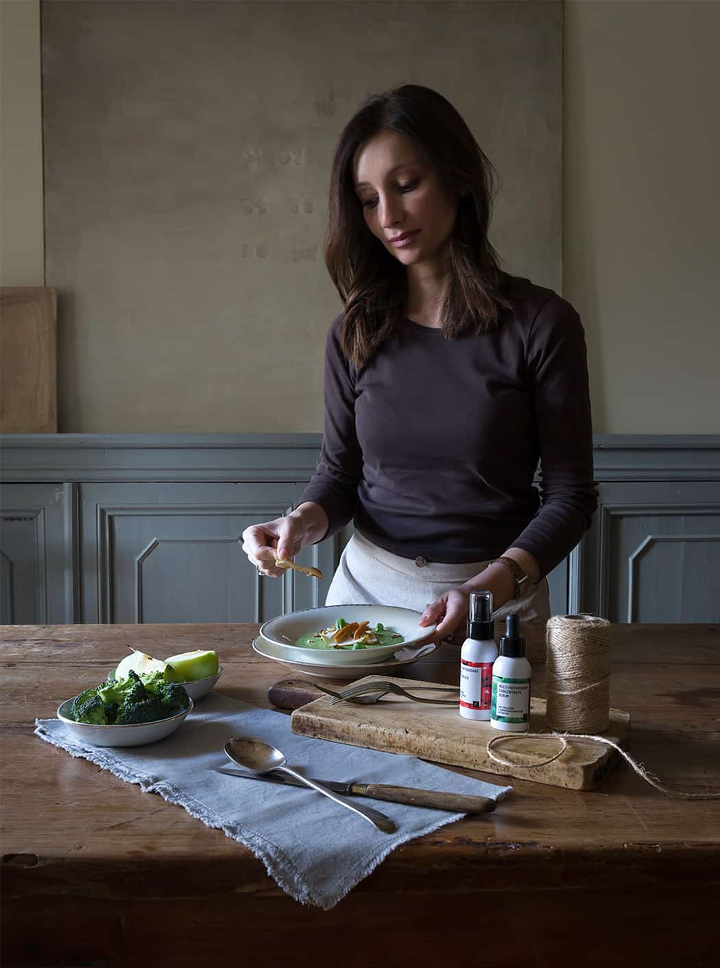 ricetta broccoli con basilico e nocciole