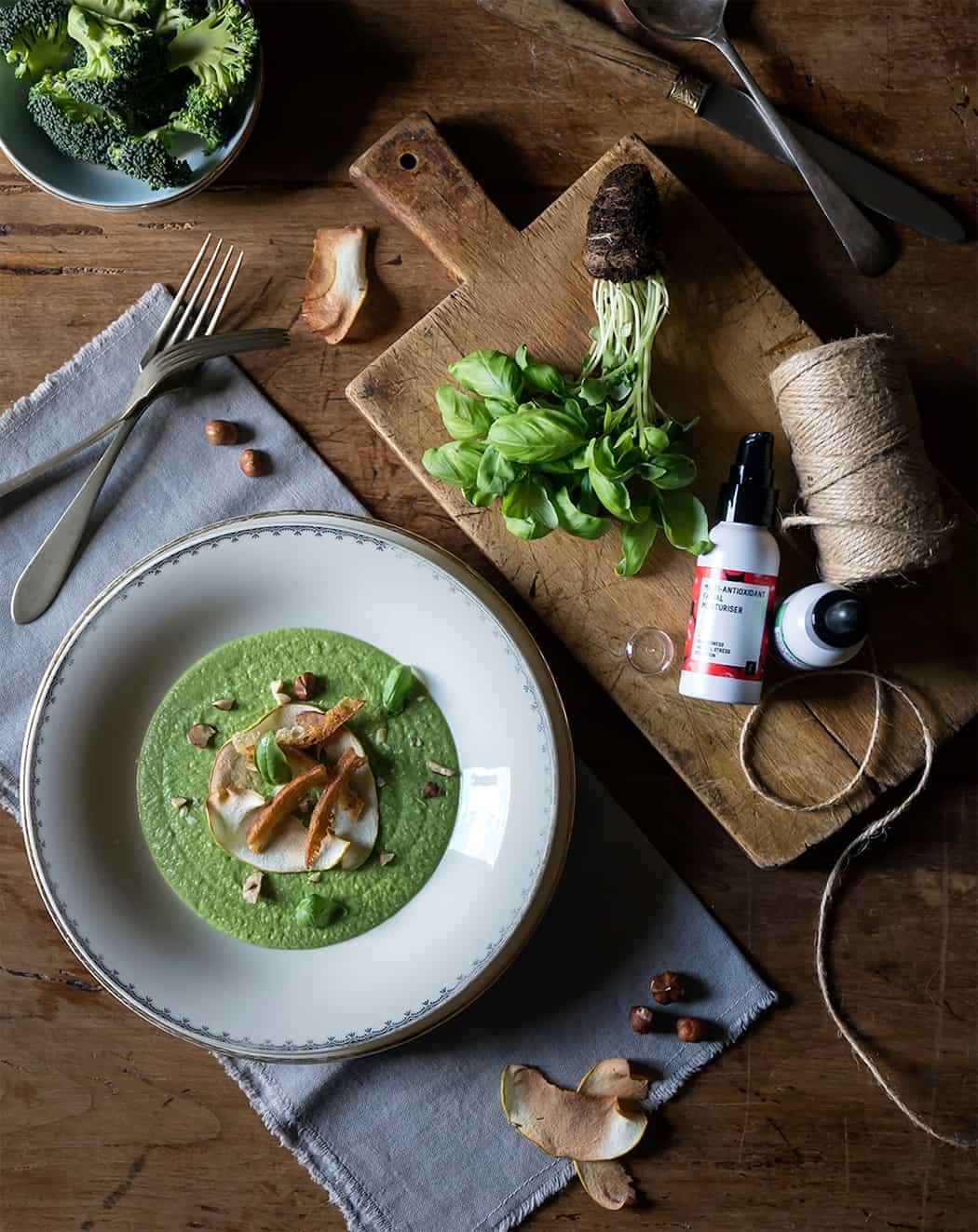 ricetta crema di broccoli con nocciole