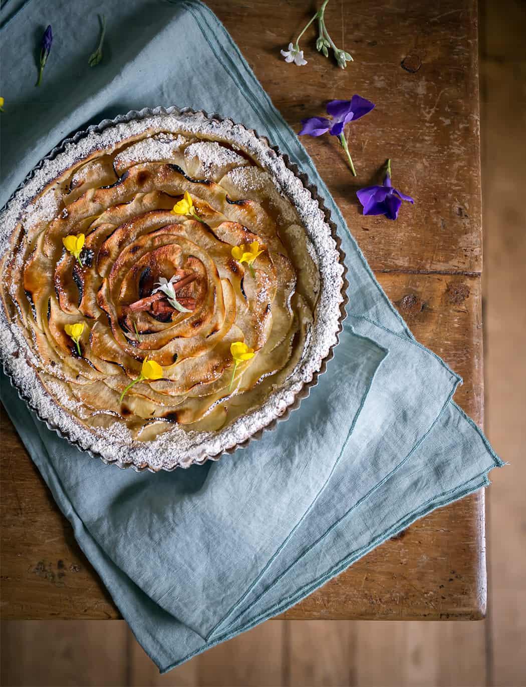foto ricette torta di mela