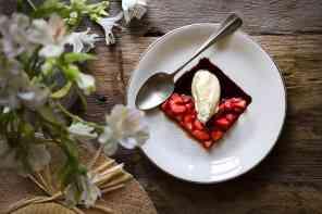 ricette con mascarpone alle fragole con aceto balsamico
