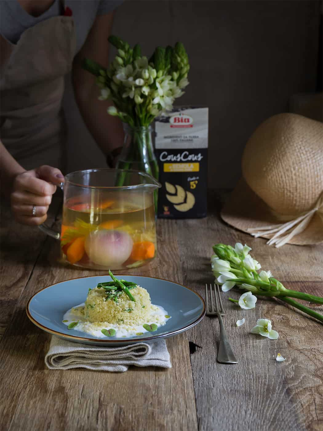 ricetta cous cous con asparagi