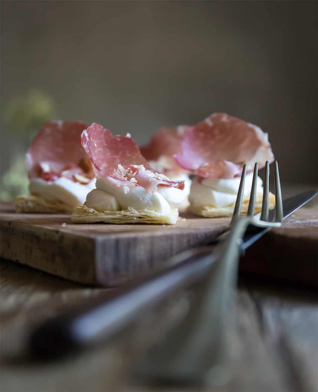 ricette finger food con coppa di Parma IGP