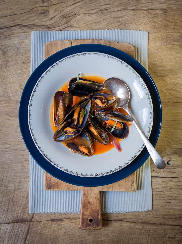 ricetta zuppa di cozze di Sonia Paladini