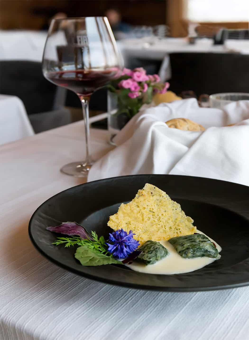 ristorante Chalet Fiat piatti gourmet