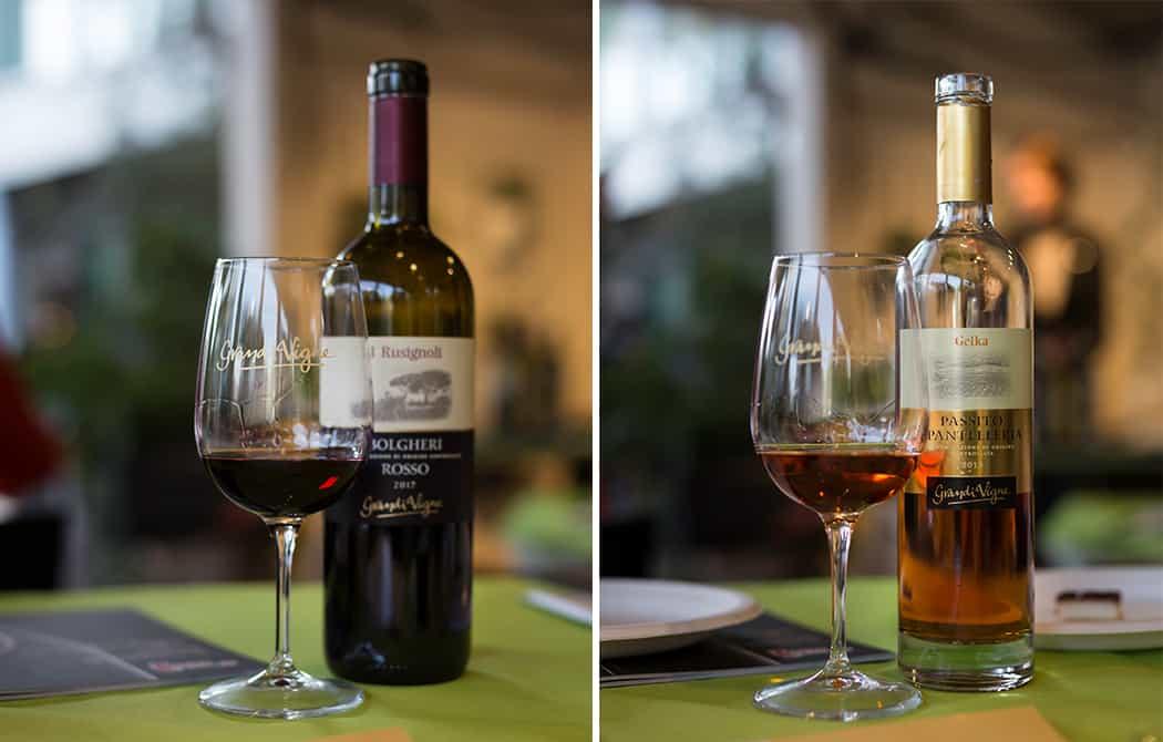 degustazione vini Grandi Vigne