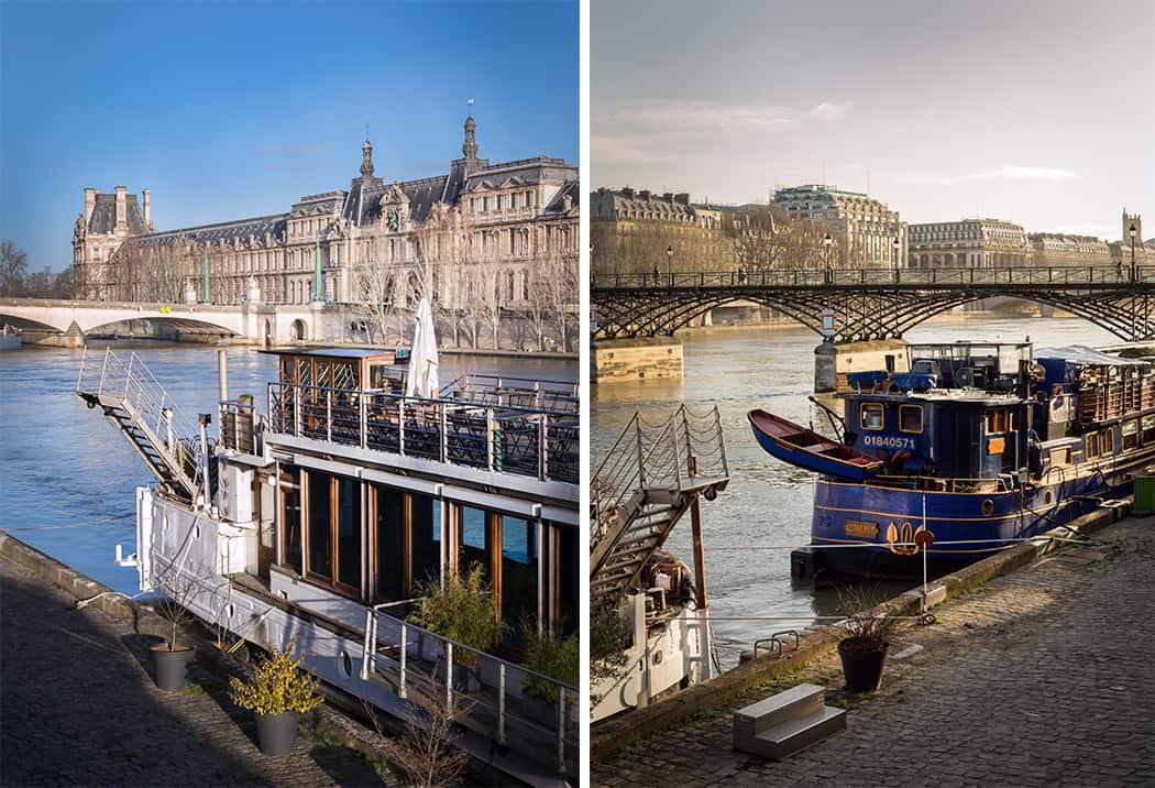 Parigi il Bateaux Mouches