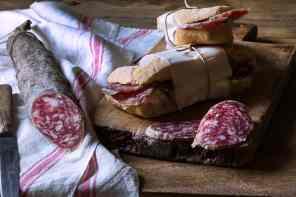 ricette con pane e salame
