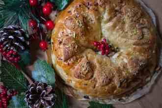 ricetta corona natalizia