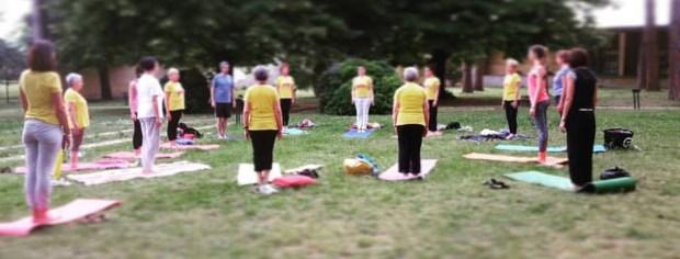 Yoga nel parco per lo Yoga Day 2016 con Sonia Squilloni e Ilaria Sarri