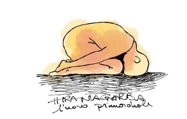 disegno lezione yoga