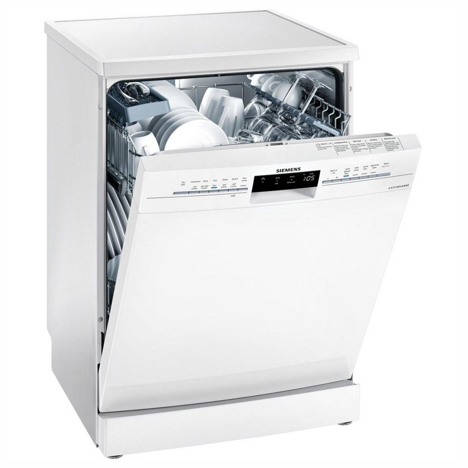 Siemens SN236W02JG 60cm iQ300 Dishwasher in White, 13 Place Settings A++