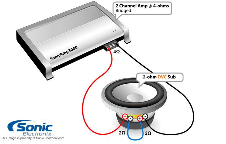 3 subwoofer wiring diagram