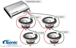 Will a P2002 rockford fosgate 2 channel amp be able to