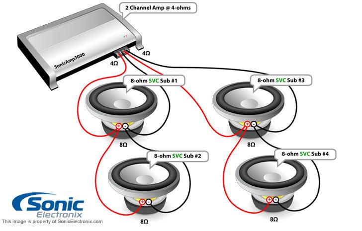kicker cvr 1 ohm wiring diagram 1990 honda accord engine surround sound speaker diagram, surround, free image for user manual download
