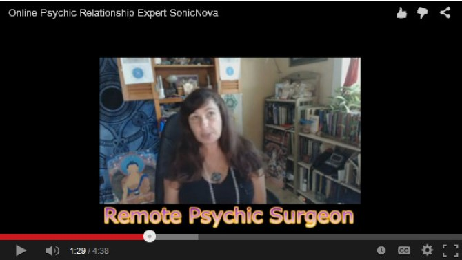 Online Remote Psychic Surgeon SonicNova