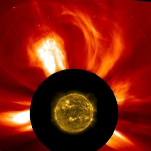 solar flares and photon waves are changing the fabric of our physical reality