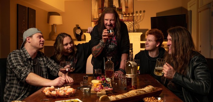 DREAM THEATER's JAMES LABRIE Joins His Son Band's FALSET for Rendition of MÖTLEY CRÜE's 'Kickstart My Heart'