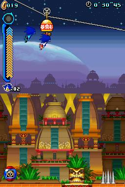 Sonic Colours DS Screenshot