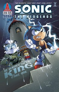 Sonic Comic book cover