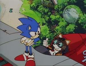 Sonic OVA Screenshot