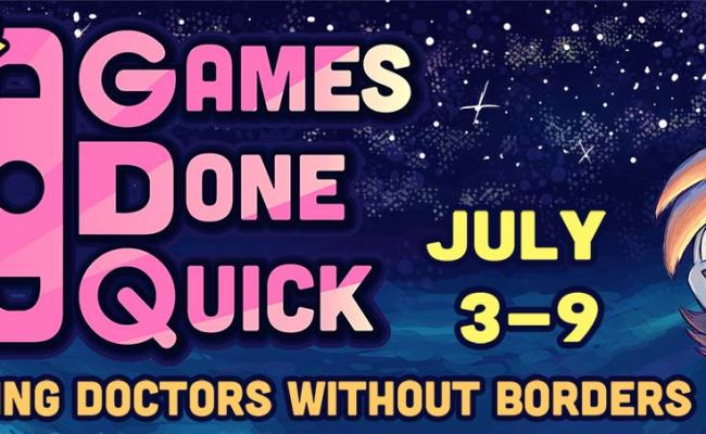 Summer Games Done Quick Kicks Off Sonic Block Sonic Retro