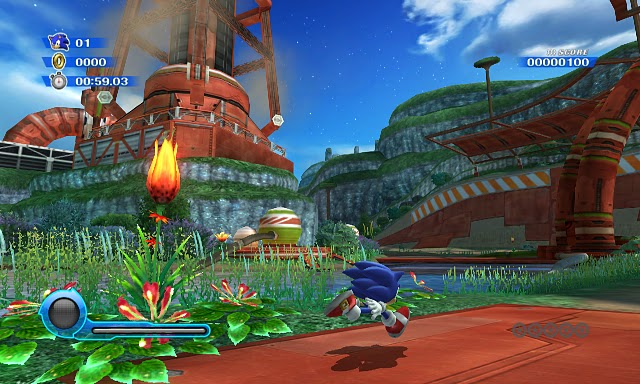 Sonic Colours Wii screen 1 1st Aug