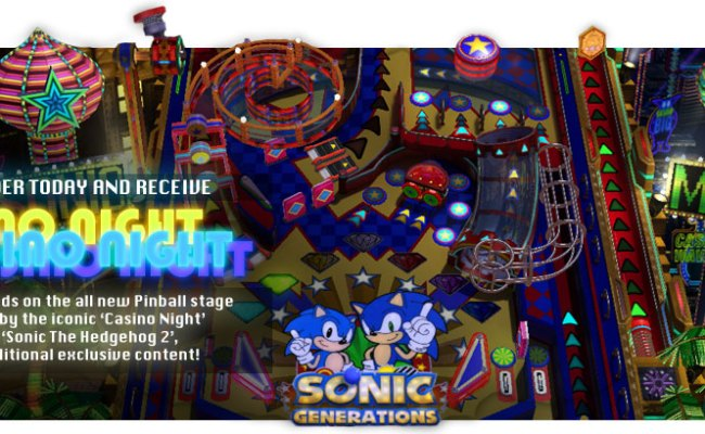 Pre Order Sonic Generations Ps3 Xbox 360 At Gamestop And