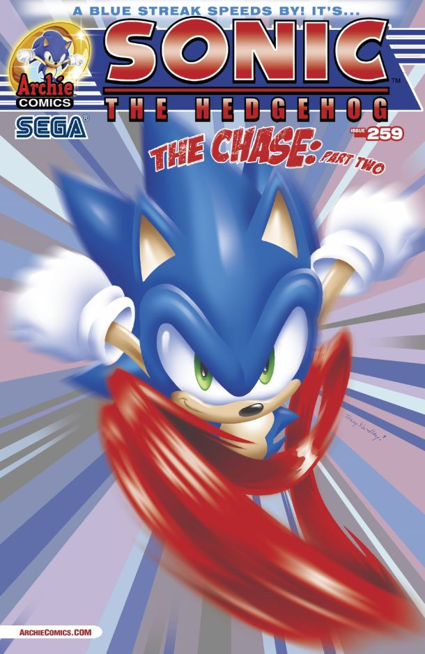 Covers And Solicitations For Sonic The Hedgehog 259 And Sonic Universe 62 Revealed The Sonic