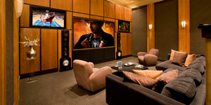 luxury theatres, professional home theatres, custom home theatres, projection theatre installers, projectors, custom theatre, corporate theatre, luxury theatre