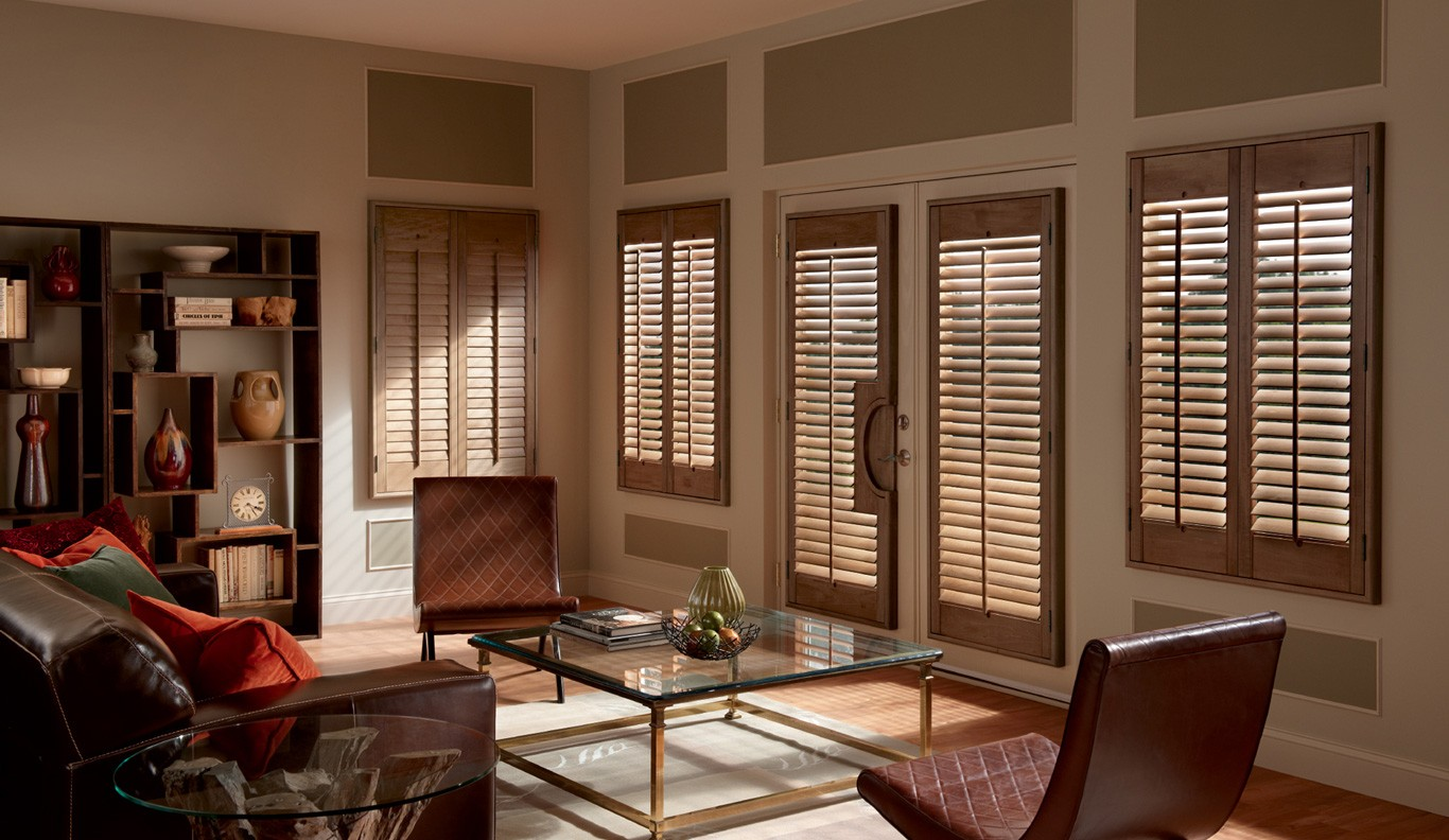 Custom Motorized Shutters