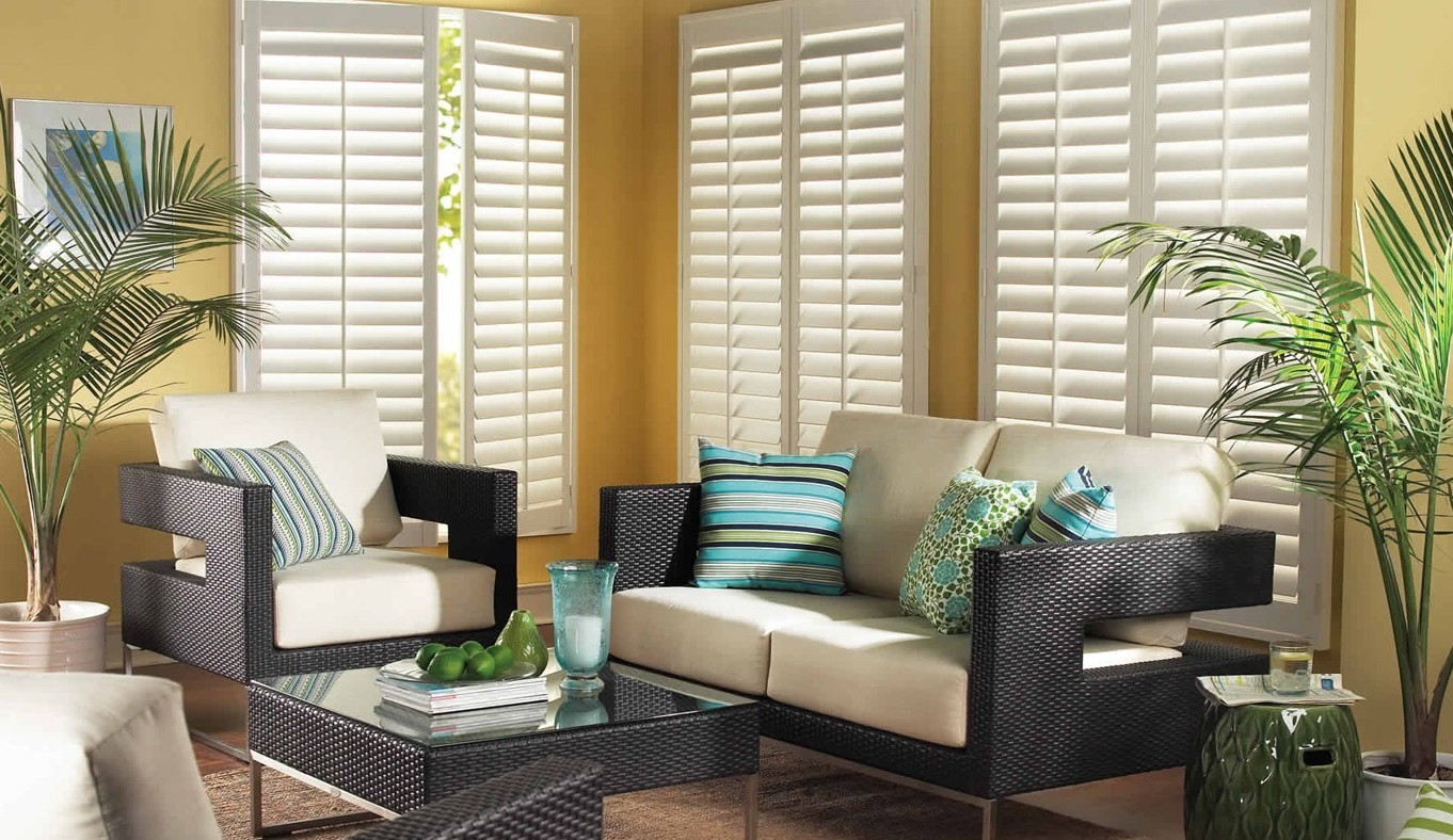 Custom Automated Window Coverings - Shutters