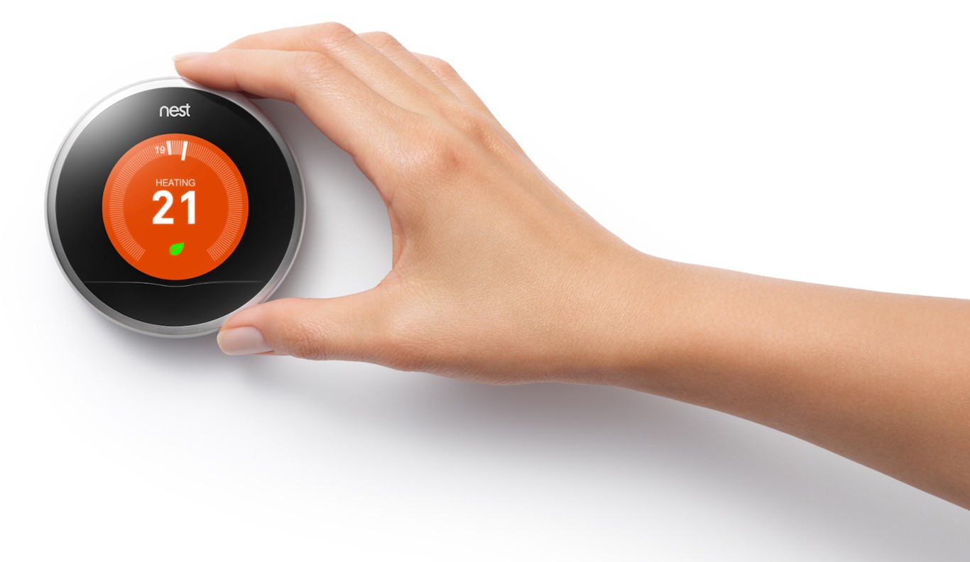 Smart thermostats adjust according to your lifestyle, the weather and time of day