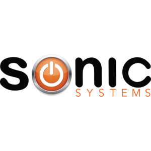 Sonic Systems Logo – Smart Home, Security Systems, Motorized Blinds, Low Voltage, Distributed Audio Video – Toronto & Vancouver Canada
