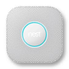 Image of White Nest Smoke and Carbon Sensor Alarm – Available in Sonic Systems Vancouver and Toronto Canada Stores
