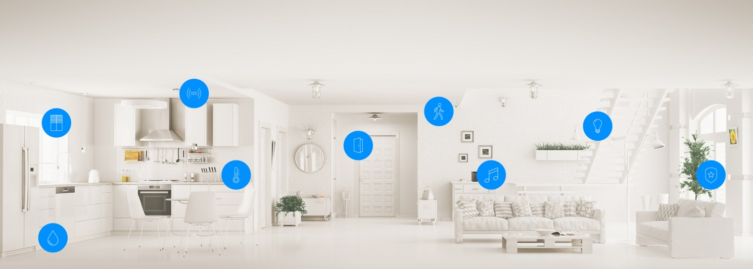 Fibaro Smart Home Infographic