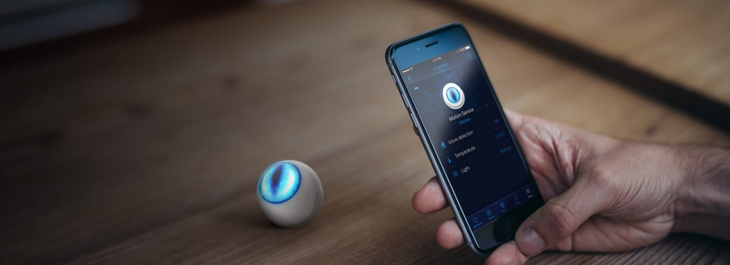 Fibaro Eye Sensor & Mobile Phone with Fibaro App – Toronto Vancouver